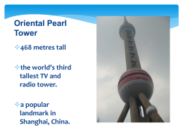 Oriental Pearl Tower - Fuhua Primary School