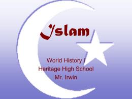 Islam - Loudoun County Public Schools