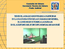 Comisión de Género Secretaría Técnica de Género