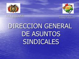 Diapositiva 1 - Página Oficial Federación Sindical