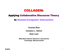 Applying Collaborative Discourse Theory to