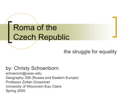 Roma of the Czech Republic