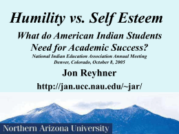 Identity & Success In Life (Including Academic