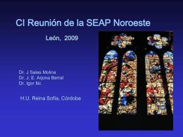 Diapositiva 1 - CASTILLA Y LEON. SEAP.