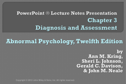 PowerPoint Lecture Notes Presentation Chapter 2