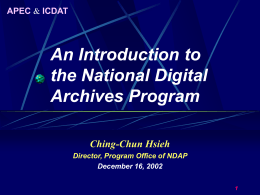 Digital Media, Informatics, and Cultural Heritage