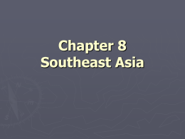 Chapter 8 Southeast Asia - Grapevine Colleyville