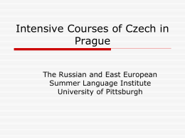 Intensive C - Slavic languages
