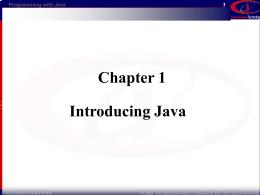 1. Java - Auburn University