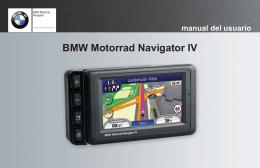 BMWMotorradNavigatorIV ESmanualdelusuario