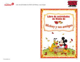 PDF Libro de actividades Mickey