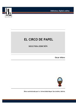 EL CIRCO DE PAPEL - Comunidad Andina