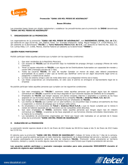 """Promoción """"GANA 100 MIL PESOS DE AGUINALDO"""