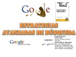 Estrategias avanzadas de búsqueda documento PDF