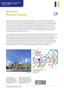 Boston Fenway - Kaplan International English