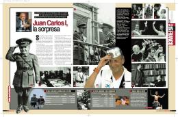 Juan Carlos I, la sorpresa