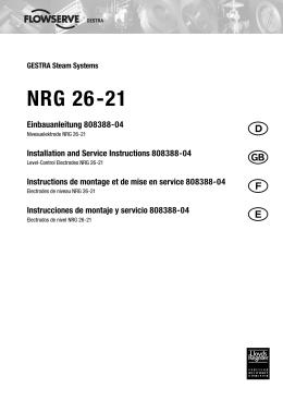 Electrodos de nivel NRG 26-21