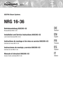 Electrode de niveau NRG 16-36