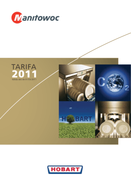 TARIFA - Manitowoc Foodservice