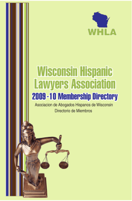 Wisconsin Hispanic Lawyers Association