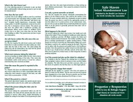 Health SH Infant Abandonment 2010.qxp