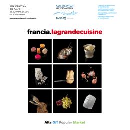 programa del congreso - San Sebastian Gastronomika