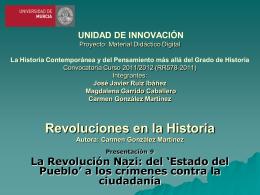 La Revolución nazi