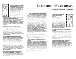 El Divorcio en Georgia