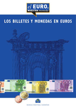 los billetes y monedas en euros - European Central Bank
