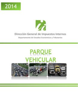 Parque Vehicular - Dirección General de Impuestos Internos