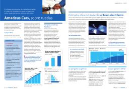 Amadeus Cars, sobre ruedas