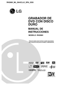 GRABADOR DE DVD CON DISCO DURO