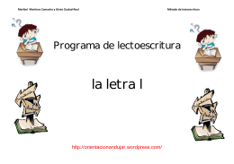 la letra l - WordPress.com