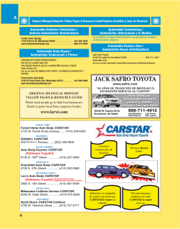 JACK SAFRO TOYOTA - Hispanic Yellow Pages