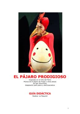 EL PÁJARO PRODIGIOSO - Gran Teatre del Liceu