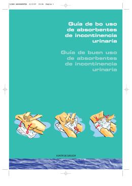 Guía de bo uso de absorbentes de incontinencia urinaria