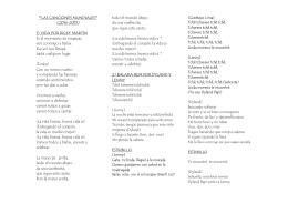Las Canciones Mundiales del 2014 Lyrics