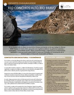 Río Conchos-Alto Río Bravo Desierto Chihuahuense