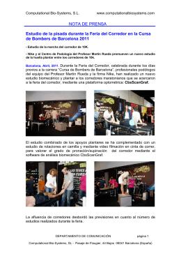 Abril-2011 : Cursa de Bombers 10K Barcelona
