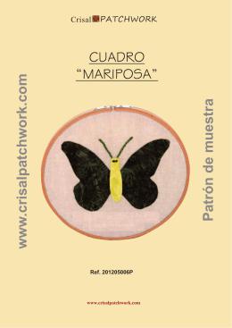 CuadroMariposa - Crisal Patchwork