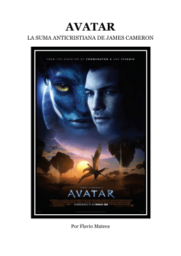 Avatar. La suma anticristiana de James Cameron