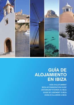 GUÍA DE ALOJAMIENTO EN IBIZA - Portal oficial de turismo de Ibiza
