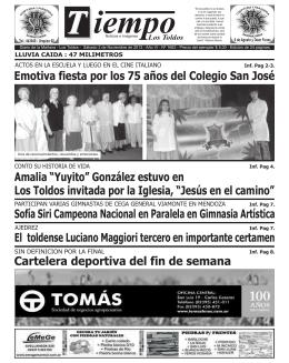 """Amalia """"Yuyito"""" González estuvo en Los Toldos invitada por la"""
