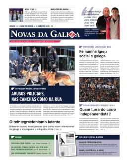 Novas da Galiza - Nº134 Fevereiro 2014