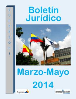 boletin juridico marzo - mayo 2014