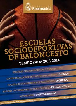 escuelas sociodeportivas de baloncesto