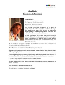 Personajes - Telefe Internacional