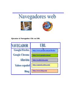 Ejecutar el Navegador: Clic en URL http://www.google.com.pe