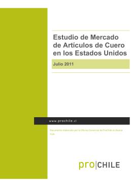 Estudio de Mercado de Artículos de Cuero en los Estados