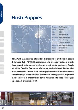 Ejemplo: Proyecto Hush Puppies.